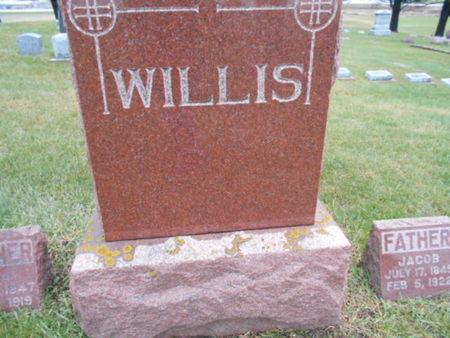 WILLIS, FAMILY STONE - Linn County, Iowa | FAMILY STONE WILLIS