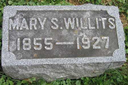 WILLITS, MARY S. - Linn County, Iowa   MARY S. WILLITS
