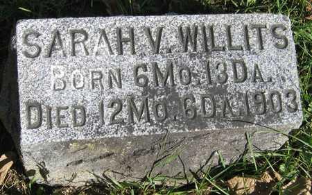 WILLITS, SARAH V. - Linn County, Iowa   SARAH V. WILLITS