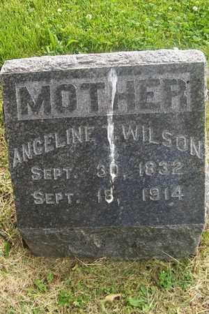 WILSON, ANGELINE - Linn County, Iowa   ANGELINE WILSON