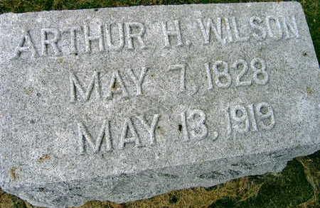 WILSON, ARTHUR H. - Linn County, Iowa | ARTHUR H. WILSON