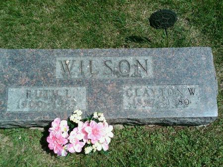 WILSON, RUTH L - Linn County, Iowa | RUTH L WILSON