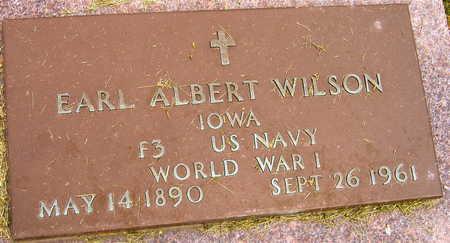 WILSON, EARL ALBERT - Linn County, Iowa | EARL ALBERT WILSON