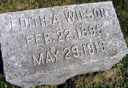 WILSON, EDITH A. - Linn County, Iowa | EDITH A. WILSON