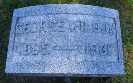WILSON, GEORGE - Linn County, Iowa | GEORGE WILSON