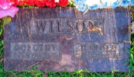 WILSON, HAROLD J. - Linn County, Iowa   HAROLD J. WILSON