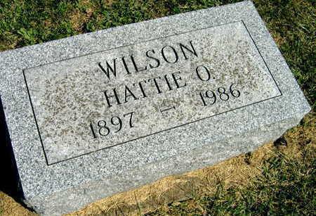 WILSON, HATTIE O. - Linn County, Iowa | HATTIE O. WILSON