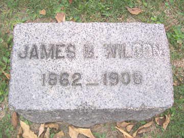 WILSON, JAMES B. - Linn County, Iowa   JAMES B. WILSON