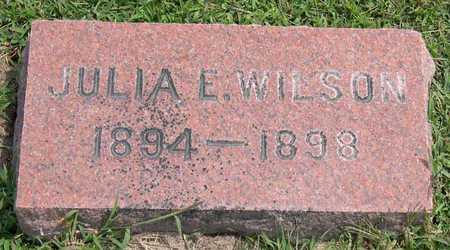WILSON, JULIA E. - Linn County, Iowa | JULIA E. WILSON