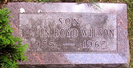 WILSON, KEVIN BOYD - Linn County, Iowa | KEVIN BOYD WILSON