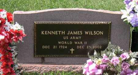 WILSON, KENNETH JAMES - Linn County, Iowa   KENNETH JAMES WILSON