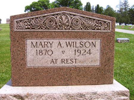 WILSON, MARY A. - Linn County, Iowa | MARY A. WILSON