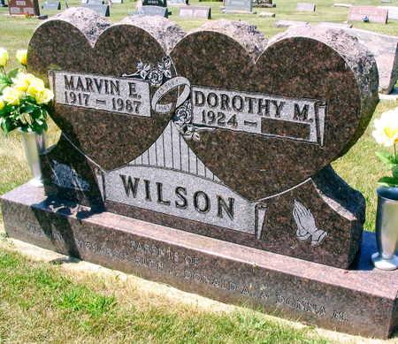 WILSON, MARVIN E. - Linn County, Iowa   MARVIN E. WILSON