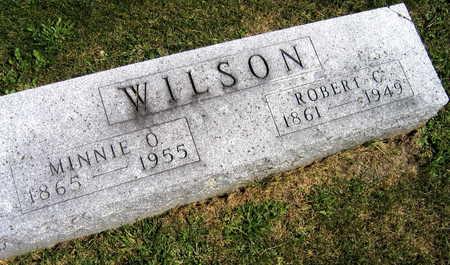 WILSON, MINNIE O. - Linn County, Iowa   MINNIE O. WILSON