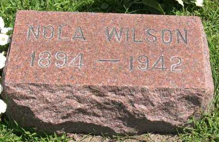 WILSON, NOLA - Linn County, Iowa | NOLA WILSON