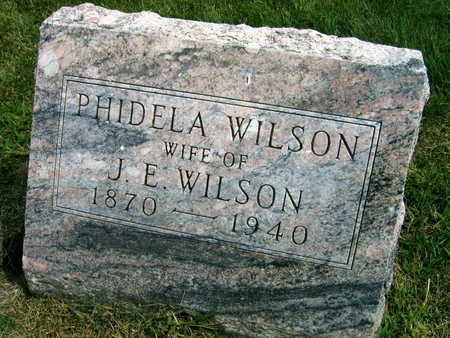 WILSON, PHIDELA - Linn County, Iowa | PHIDELA WILSON