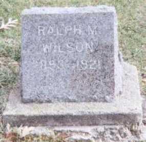 WILSON, RALPH M. - Linn County, Iowa | RALPH M. WILSON