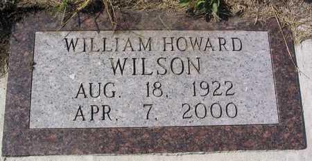 WILSON, WILLIAM HOWARD - Linn County, Iowa | WILLIAM HOWARD WILSON