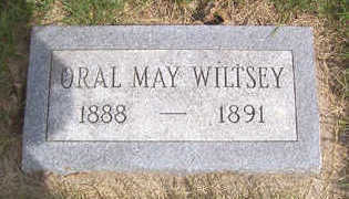 WILTSEY, ORAL MAY - Linn County, Iowa | ORAL MAY WILTSEY