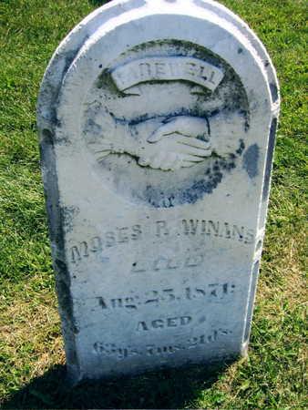 WINANS, MOSES P. - Linn County, Iowa | MOSES P. WINANS