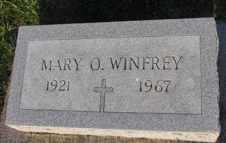 WINFREY, MARY O. - Linn County, Iowa | MARY O. WINFREY