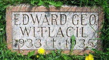 WITLACIL, EDWARD GEO. - Linn County, Iowa   EDWARD GEO. WITLACIL