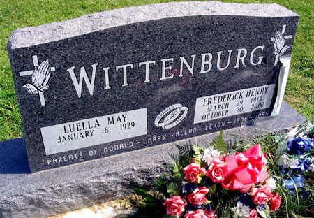 WITTENBURG, FREDERICK HENRY - Linn County, Iowa | FREDERICK HENRY WITTENBURG