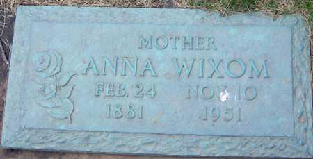 WIXOM, ANNA - Linn County, Iowa | ANNA WIXOM