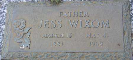 WIXOM, JESS - Linn County, Iowa | JESS WIXOM