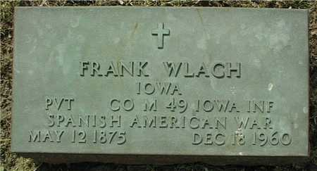 WLACH, FRANK - Linn County, Iowa | FRANK WLACH