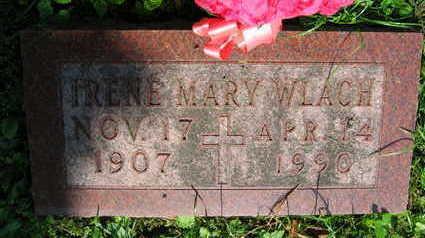 WLACH, IRENE MARY - Linn County, Iowa | IRENE MARY WLACH