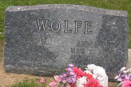 WOLFE, ANNA M. - Linn County, Iowa | ANNA M. WOLFE