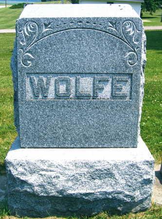 WOLFE, FAMILY STONE - Linn County, Iowa | FAMILY STONE WOLFE