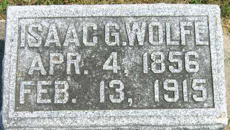 WOLFE, ISAAC G. - Linn County, Iowa | ISAAC G. WOLFE
