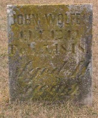 WOLFE, JOHN - Linn County, Iowa | JOHN WOLFE