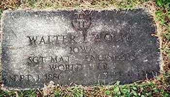 WOLFE, WALTER I. - Linn County, Iowa   WALTER I. WOLFE