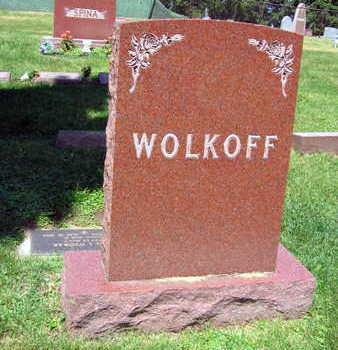 WOLKOFF, FAMILY STONE - Linn County, Iowa | FAMILY STONE WOLKOFF