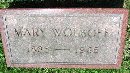 WOLKOFF, MARY - Linn County, Iowa   MARY WOLKOFF