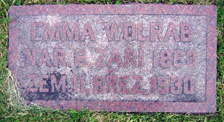 WOLRAB, EMMA - Linn County, Iowa   EMMA WOLRAB