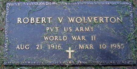 WOLVERTON, ROBERT V. - Linn County, Iowa | ROBERT V. WOLVERTON