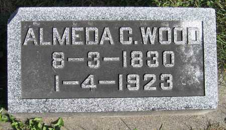 WOOD, ALMEDA C. - Linn County, Iowa | ALMEDA C. WOOD