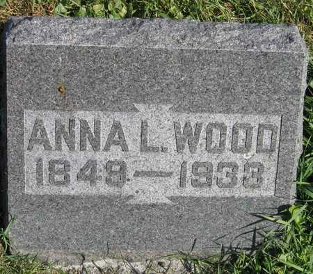WOOD, ANNA L. - Linn County, Iowa | ANNA L. WOOD