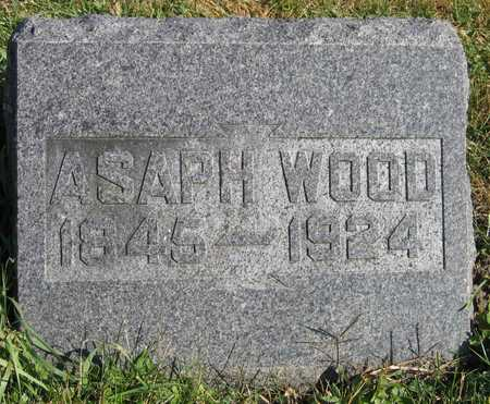 WOOD, ASAPH - Linn County, Iowa | ASAPH WOOD