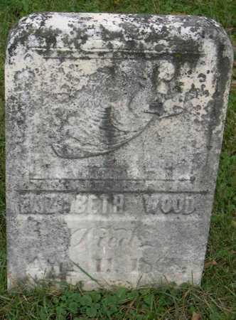 WOOD, ELIZABETH - Linn County, Iowa | ELIZABETH WOOD