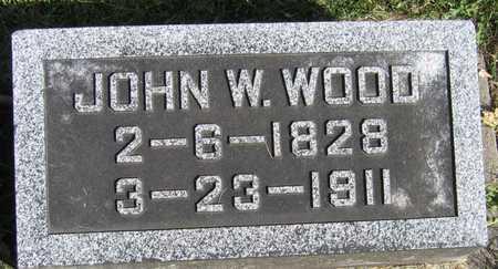 WOOD, JOHN W. - Linn County, Iowa | JOHN W. WOOD