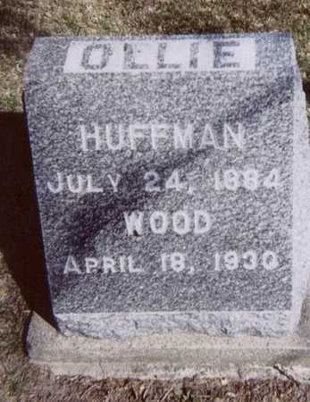 HUFFMAN WOOD, OLLIE - Linn County, Iowa   OLLIE HUFFMAN WOOD