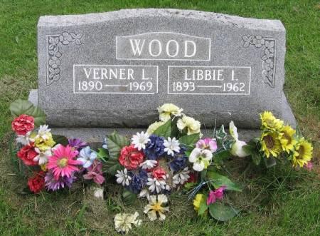 WOOD, LIBBIE I. - Linn County, Iowa | LIBBIE I. WOOD