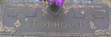 WOODHOUSE, RAND F - Linn County, Iowa | RAND F WOODHOUSE