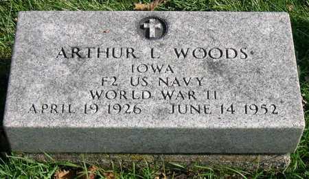 WOODS, ARTHUR L. - Linn County, Iowa | ARTHUR L. WOODS