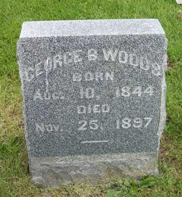 WOODS, GEORGE B. - Linn County, Iowa | GEORGE B. WOODS
